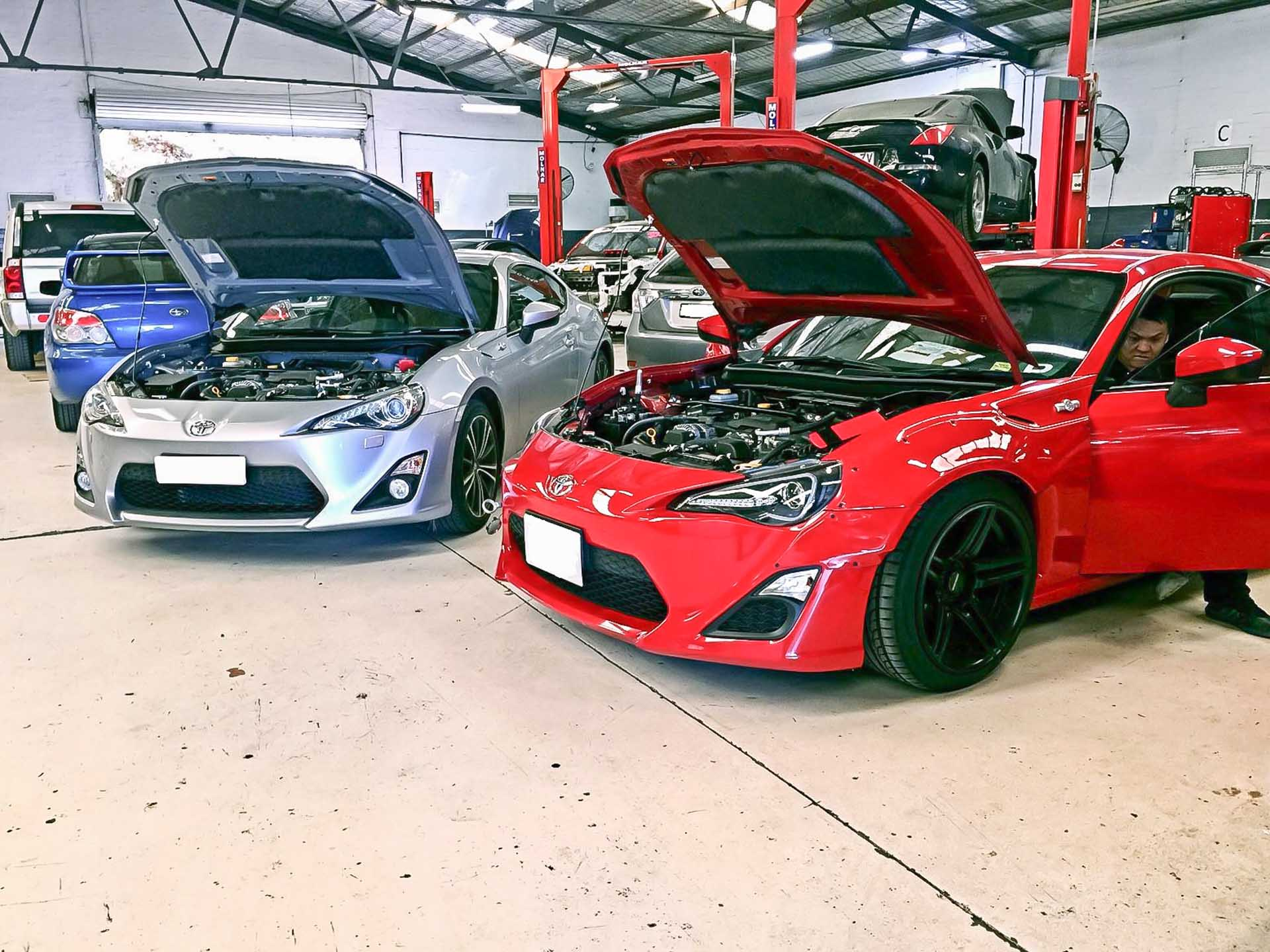 BRZ / GT86 2 BRZ / GT86 With the 86 platform, we don't put together any performance packages as we've found everybody wants different things done at different times. You can rest assured that we have access to source you any brand of any part for your 86 or BRZ